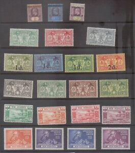 New Hebrides Early Mint Collection