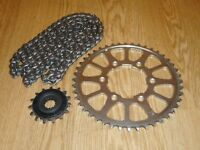 KAWASAKI Z900 (ZR900-BHF) X-RING 525 CHAIN & SPROCKET SET (512 MILES) 2017-2018