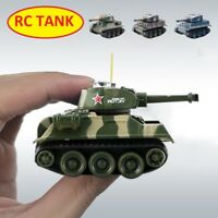 Mini Tiger RC Tank Model Remote Control Tank Radio Controlled Electronic Toys