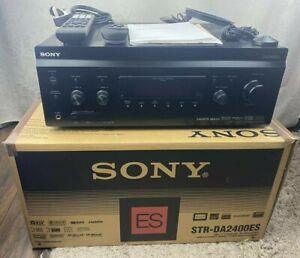 Sony STR-DA2400ES 7.1 AV HD Receiver Amplifier 5x HDMI Black Amp -Excellent Con