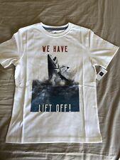 NWT Gap Kids Boys Shark Theme Short Sleeve T-Shirt Size Large L