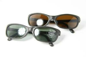 Vintage VUARNET Sunglasses 037 Oval Brown Gray Mineral Lens