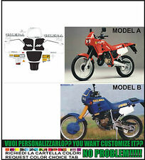 kit adesivi stickers compatibili rc 125 top rally 1989