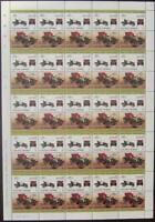 1903 DE DION BOUTON Car 50-Stamp Sheet / Auto 100 (1984 Nanumaga TUVALU)