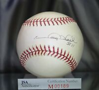GARY SHEFFIELD JSA SIGNED MAJOR LEAGUE BASEBALL AUTHENTICATED AUTOGRAPH