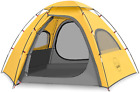 KAZOO Outdoor Family Tent Durable Lightweight, Waterproof Camping Tents Easy Sun