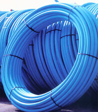 Coil Blue water mains MDPE pipe roll  25mm x 100mtr