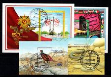 Tadschikistan 1995-96 Mi. Bl. 4-7 Block 100% gestempelt Tiere, Ende des Zweiten