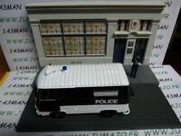 DIO4D Voiture + diorama 1/43 IXO : TEST métiers de france : Peugeot J7 police