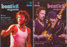 Bruce Springsteen on Cover Lot of 2 Japan Magazines Rare!