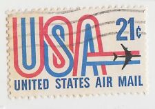 (UST-331) 1971 USA 21c USA Air mail (B)