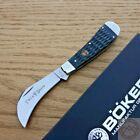 Boker Folding Knife Stainless Steel Hawkbil Blade Jigged Bone Handle 110798SOI