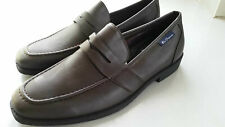 *NEW* Ben Sherman Chocolate  Men's Shoes Brown Leather Penny Loafers SIZE 8