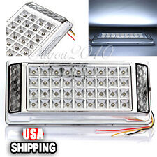 Pure White 36 LED Car Van Reading Dome Wedge Ceiling Roof Map Interior Light 12V