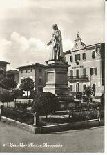 200062 FIRENZE CERTALDO - MONUMENTO a BOCCACCIO - MUNICIPIO Cartolina FOTOGRAFIC