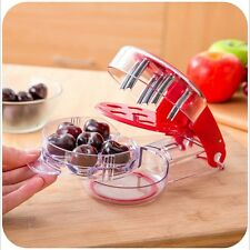 Cherry Olive Pitter Seed Stone Remover Cherries Fast Enucleate Gadget Fruit Tool