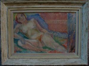 Rolf Norrman 1921-1964, Liegender weiblicher Akt, datiert 1944