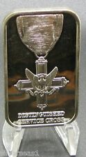 1989 DISTINGUISHED SERVICE CROSS ~ HEROISM AGAINST OPPOSING FORCES ~ SILVER BAR