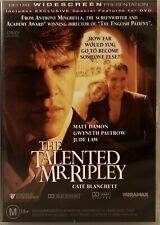 The Talented Mr. Ripley (Dvd) Matt Damon - Jude Law - Cate Blanchett Like New
