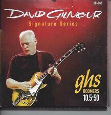 GHS DAVID GILMOUR SIGNATURE SERIES BOOMERS ELECTRIC GUITAR STRINGS 10.5-50 GB-DG
