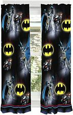 Kids Curtain Panels Franco Window Drapes Set 82 Quot X 63 Batman Home Kitchen