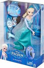 "DISNEY FROZEN ICE SKATING 12"" ELSA DOLL BY MATTEL - NEW IN BOX!"