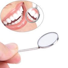Dental Mirror Dentist Stainless Steel Handle Tool for Teeth Cleaning Fp