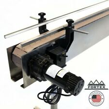 Fortex Stainless Steel 4' X 4.5� Inline Packaging Conveyor With Table Top Belt