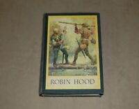 ROBIN HOOD AND HIS OUTLAW BAND by Louis Rhead Harper & Brothers 1st Edition 1912