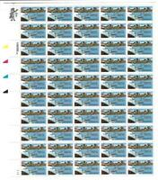 US SCOTT C115 PANE OF 50 TRANSPACIFIC AIRMAIL STAMPS 44 CENT FACE MNH