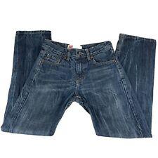 Boys Levis 514 Jeans Straight Size 14 Reg 100% Cotton Measure 27 x 28 Mkd 27x27