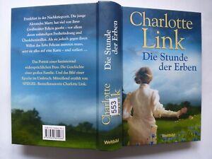 (553) Die Stunde der Erben von Charlotte Link gebundene Ausgabe