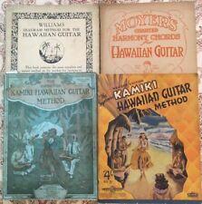 1916-1920s Hawaiian Steel Guitar~Kamiki~Ukelele~12 Vintage Instruction Books