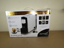 Espressotoria Caprista Espresso Coffee Pod Machine, White