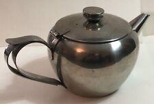 Vintage Sunnex Stainless Steel Tea Pot 3 Cup Double Handle Good Pourer VGC
