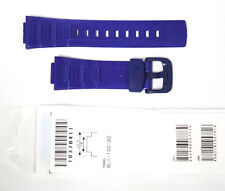 CASIO WATCH BAND:  10378411 BAND FOR  10378411 BLX-100 Blue Baby-G Band
