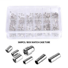 Watch Case Tube Stainless Steel Pendant Pipe Accessory Repair Tool for Crown BT