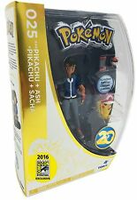 TOMY: Pokemon 2016 SDCC Excl Pikachu + Ash (20th Anniversary Set) - In Hand