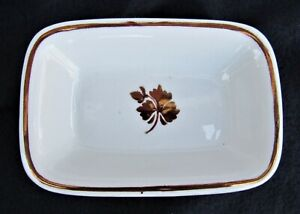 Antique Tea Leaf Soap Dish Royal Ironstone China A.J. Wilkinson England