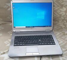 Sony VAIO Laptop model PCG-7113M new build of Win 10 Pro good condition