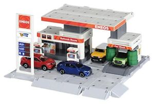 New Tomica Town Build City Gas Station Stand ENEOS 2017 MODEL Takara Tomy
