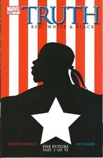 TRUTH RED WHITE BLACK #1 CAPTAIN AMERICA ISAIAH BRADLEY FALCON WINTER SOLDIER HM
