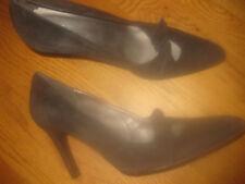 FRANCO BARBIERI LADIES BLACK LEATHER SHOES 9M MADE IN ITALY PERFECT CONDITION!
