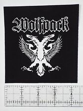 Wolfpack Crust Punk Patch - Dirt Wolfbrigade Discharge Warvictims Phobia Avskum