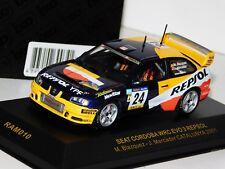 SEAT CORDOBA WRC EVO 3 REPSOL #24 BLAZQUEZ CATALUNYA 2001 IXO RAM010 1/43