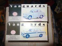 2 x Vanguards VA23001 Grey Austin A35 VA5008 TRIUMPH HERALD WHITE FADED BOXES