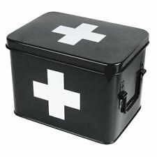Present Time Medikamentenbox Schwarz (Klein)