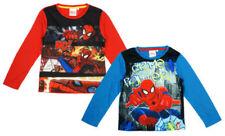 T-shirts et hauts manches longues en polycoton pour garçon de 2 à 16 ans