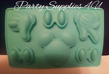 Disney Mickey Mouse silicone mould/mold Chocolate/party/fondant/sweet/Minnie