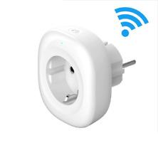 Smart Socket Eu Electric Socket  Power Adapter Plug Wifi Wireless Controlled